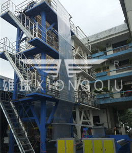 FM2-3200 AB 2 Layers Co-extrusion Film Blowing Machine
