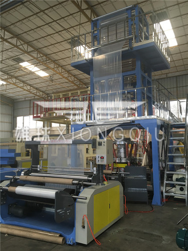 FM3-1400ABC LDPE Film Blowing Machine